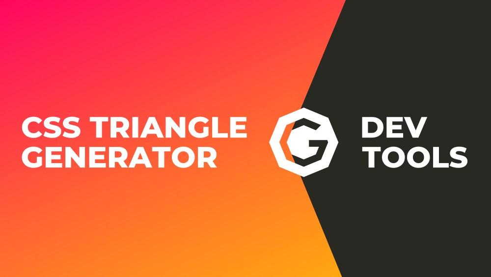 CSS Triangle (Dreieck) Generator + Beispiele / Code - G DEV
